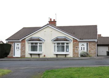 Thumbnail 2 bed semi-detached bungalow for sale in Hilton Drive, Peterlee