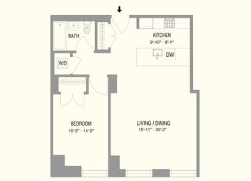 Thumbnail 1 bed property for sale in 55 West 17th Street, New York, New York State, United States Of America