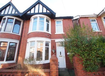 Thumbnail 3 bedroom semi-detached house for sale in Manor Road, Blackpool