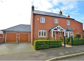 Thumbnail 4 bed detached house for sale in School Lane, Northampton