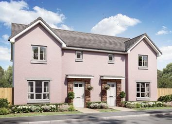 """Thumbnail 3 bedroom semi-detached house for sale in """"Craigend"""" at Lossiemouth Road, Elgin"""