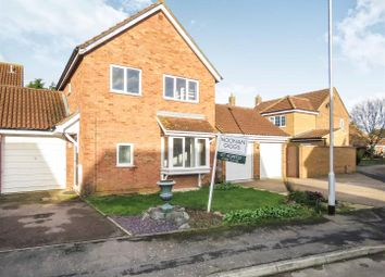 Thumbnail 4 bed detached house for sale in Sundew Close, Eaton Ford, St. Neots