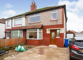 Thumbnail 3 bed semi-detached house for sale in Durham Avenue, Thornton-Cleveleys, Lancashire, .