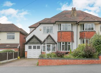 Thumbnail 4 bedroom semi-detached house for sale in Antrobus Road, Boldmere, Sutton Coldfield
