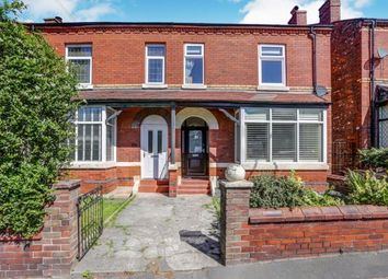 Thumbnail 4 bed semi-detached house for sale in Stockport Road West, Bredbury, Stockport, Cheshire