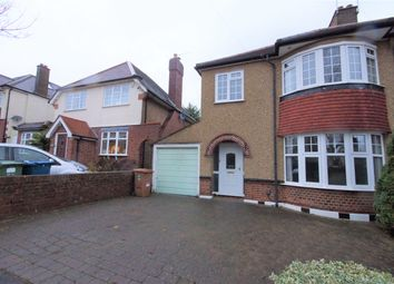 Thumbnail 3 bed semi-detached house to rent in Mount Drive, Harrow, Middlesex