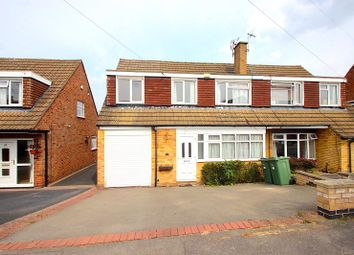 Thumbnail 4 bed semi-detached house for sale in Beechwood Avenue, Leicester Forest East, Leicester