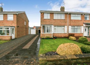 Thumbnail 3 bed semi-detached house for sale in Longcroft Road, Dronfield Woodhouse, Derbyshire