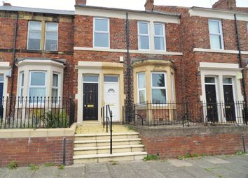 Thumbnail 2 bed flat for sale in Bensham Crescent, Gateshead