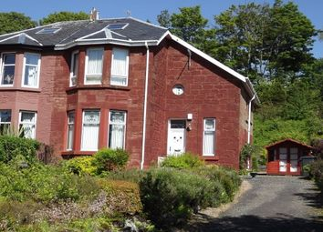 Thumbnail 2 bed semi-detached house to rent in Greenock Road, Wemyss Bay