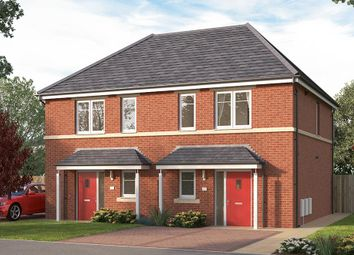 "Thumbnail 2 bed semi-detached house for sale in ""The Coleford"" at Manston Lane, Crossgates"