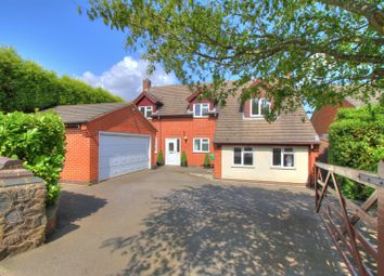 Thumbnail 4 bedroom detached house for sale in Main Street, Bagworth, Coalville