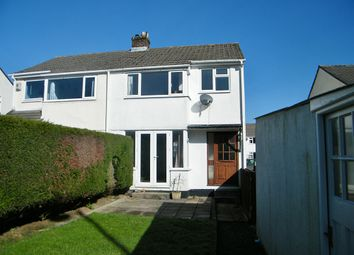 Thumbnail 3 bed semi-detached house to rent in St Johns Road, Launceston