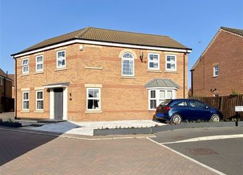 Thumbnail 4 bed detached house for sale in Frankham Close, Dinnington