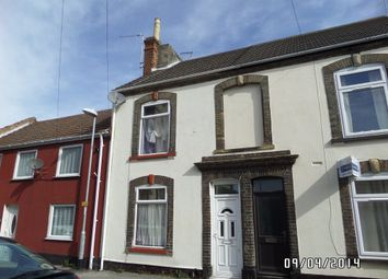 Thumbnail 3 bedroom terraced house to rent in Crown Street West, Lowestoft