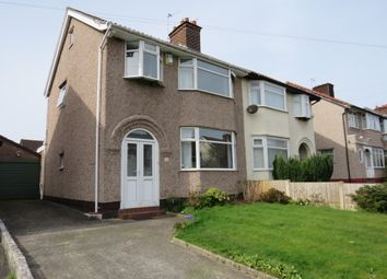 Thumbnail 3 bedroom semi-detached house for sale in Heyville Road, Bebington, Wirral