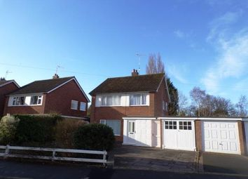 Thumbnail 3 bed detached house for sale in Brighton Avenue, Wigston, Leicester, Leicestershire