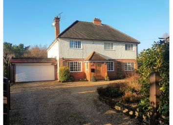 Thumbnail 4 bedroom detached house for sale in Church Road, Mortimer West End