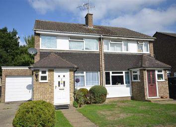 Thumbnail 3 bed semi-detached house for sale in Riverdale, Wrecclesham, Farnham