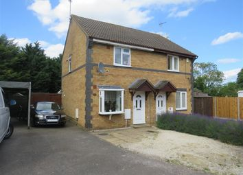Thumbnail 2 bed semi-detached house for sale in Heatherdale Close, Farcet, Peterborough