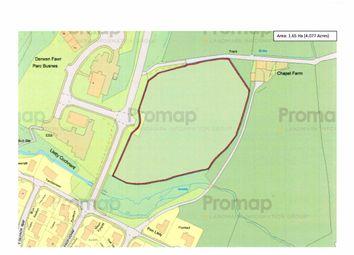 Thumbnail Land for sale in Opp Parc Derwen Fawr, Business Park, Llanidloes, Powys