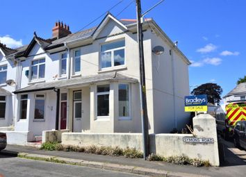 Thumbnail 3 bed end terrace house for sale in Symons Road, Saltash, Cornwall