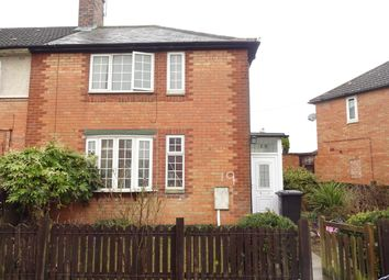 Thumbnail 3 bed end terrace house for sale in Webster Road, Leicester
