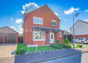 Thumbnail 4 bed detached house for sale in Chapel Croft, Ardleigh, Colchester