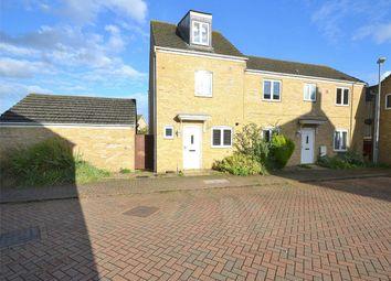 Thumbnail 3 bed semi-detached house for sale in Collinson Crescent, Sapley, Huntingdon, Cambridgeshire