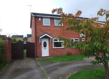 Thumbnail 2 bed semi-detached house to rent in Burrington Drive, Trentham, Stoke-On-Trent