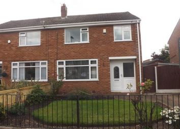 Thumbnail 3 bed semi-detached house for sale in Dorset Way, Woolston, Warrington, Cheshire