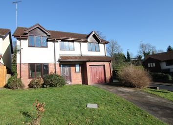 Thumbnail 5 bed detached house for sale in Ffos Y Fran, Bassaleg, Newport