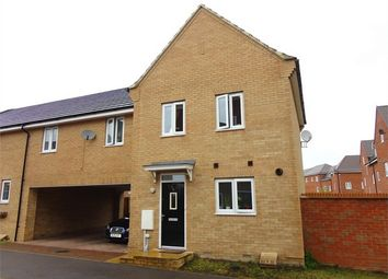 Thumbnail 3 bed detached house to rent in Rochester Way, New Cardington, Bedfordshire