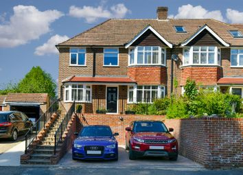 Thumbnail 4 bed semi-detached house for sale in Parkgate Road, Reigate