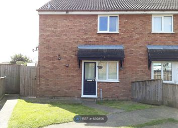Thumbnail 1 bed end terrace house to rent in Drake Close, Stowmarket