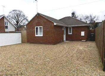 Thumbnail 2 bedroom detached bungalow to rent in Cauldwell Hall Road, Ipswich, Suffolk