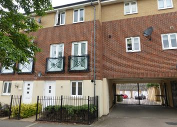 Thumbnail 3 bedroom town house for sale in Eagle Way, Hampton Centre, Peterborough