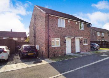Thumbnail 2 bedroom semi-detached house for sale in Fairbairn Road, Peterlee