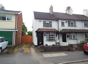 Thumbnail 2 bed end terrace house for sale in Codsall Road, Tettenhall, Wolverhampton, West Midlands