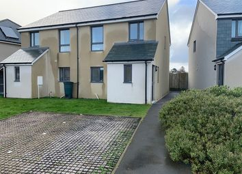 Thumbnail 2 bed semi-detached house for sale in Down View, Bere Alston