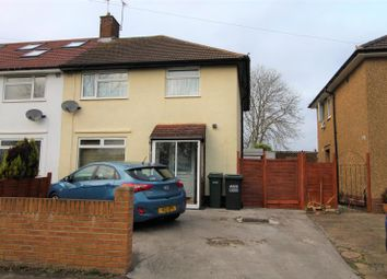 Thumbnail 3 bed semi-detached house to rent in Little Oxhey Lane, Watford
