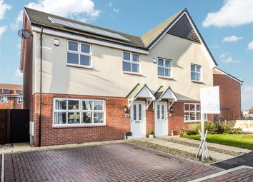 Thumbnail 3 bed semi-detached house for sale in Vicarage Crescent, Coppull, Chorley