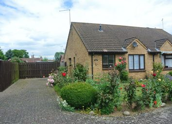 Thumbnail 2 bed semi-detached bungalow for sale in 5 Bishops Close, Bourne, Lincolnshire