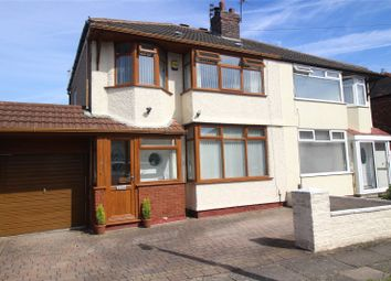 Thumbnail 4 bedroom semi-detached house for sale in Queenscourt Road, Liverpool, Merseyside