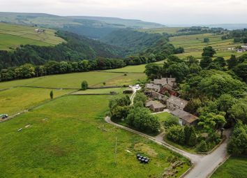 Thumbnail 4 bed detached house for sale in Greenwood Lee Farm, Widdop Road, Hebden Bridge