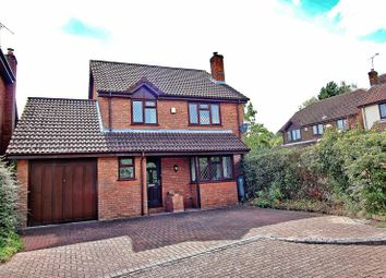 Thumbnail 4 bed detached house for sale in Radcliffe Close, Frimley, Camberley