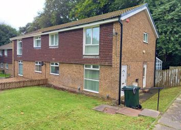 Thumbnail 2 bed flat to rent in Wood Grove, Newcastle Upon Tyne