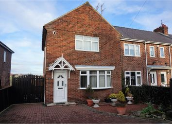 Thumbnail 3 bed semi-detached house for sale in Rosslyn Avenue, Sunderland