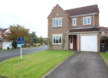Thumbnail 4 bed detached house to rent in Pecketts Way, Harrogate