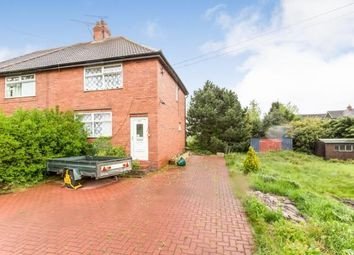 Thumbnail 3 bed semi-detached house for sale in Cobbs Lane, Wybunbury, Nantwich, Cheshire